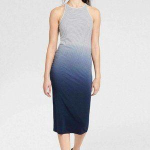 Athleta Striped Ombre Maxi Dress